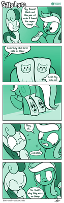 Silly Lyra - What Are Those?! by Dori-to