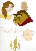 Sketchies- BnTB by BlueCheshireCat