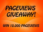 10.000 PAGEVIEWS GIVEAWAY by P4P-Pageview4Points
