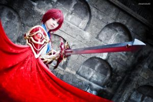 the knight of fire by dreamshot08