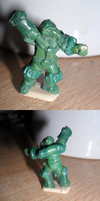 Scratch-built 1:72 Rogue Trader Space Marine by ForgottenDemigod
