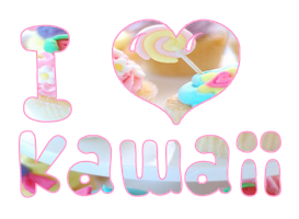 Png I love kawaii by NyappyGirl99