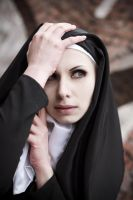 Gothic Nun Stock by Nerium-Oleanders
