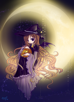 Happy Halloween colored by Effier-sxy