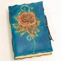 BLUE ROSE by gildbookbinders