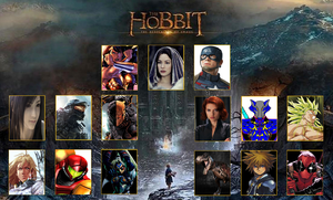 The Hobbit Meme: The Fellowship of Awesome by WOLFBLADE111