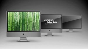 iMac and iCinema-my own design by nevralgic