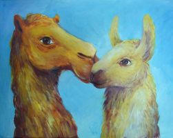 Adorable Camelids by TrollGirl