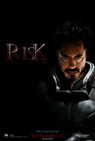 Risk Movie Teaser Poster by HarrisonOdell