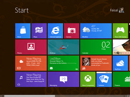 Windows 8 Cp Start Screen by Faisalharoon