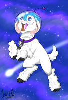 To space and beyond! by Chocolatechilla