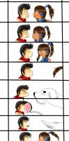 Makorra: A Kiss You Didn't expect by xmizuwaterx