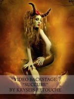 Succube Video Backstage by Kryseis-Art