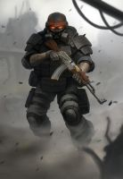 Blackshot Boss Dude by MarcWasHere