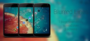 Blurred Lines: 3 Screens, Seamless Transitions by mchonej