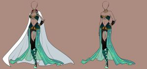 Fashion Adoptable Auction 24 - CLOSED by Karijn-s-Basement