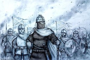Aethelflaed of Mercia, 917 AD - Women War Queens by Gambargin