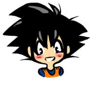 Goku ittybitty by GirlOfGore