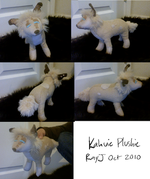 Kahvie plushie commish by TheRoguez