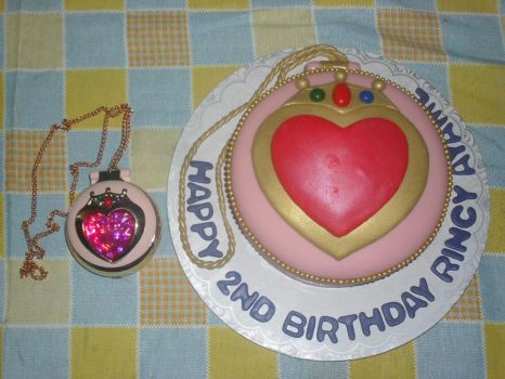AYAME'S CHIBIMOON COMPACT CAKE by prinsesaian