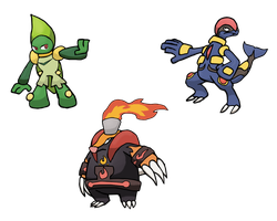 Treku Starters - Stage 2 by StrongSeanMann