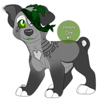 Pottery Dogs: #7, Plant Phial, Closed by c-Chimera