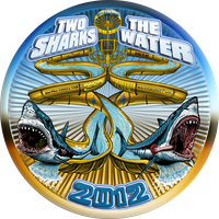 TWO SHARKS IN THE WATER 2012 by BEYONDtheDISC
