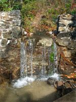 waterfall at grotto by richair