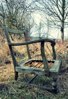 An old hag's chair by Schattenfunke