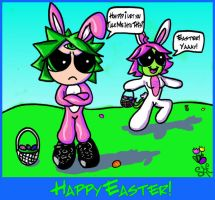 Easter Buddies by Starchasm