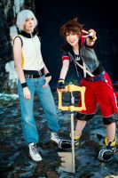Kingdom Hearts - Dream travelers by Mimixum