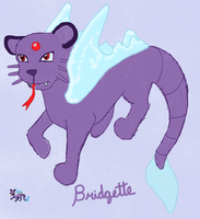 Fakemon: Bridgette by Chrysanthe-mums