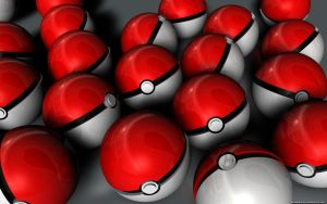 Pokeball Wallpaper by VickyM72