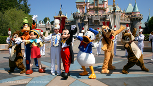 Mickey and Friends by DisneyLizzi