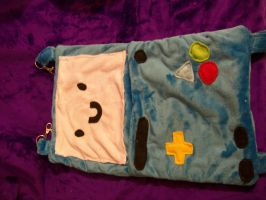 Adventure Time ferret or small pet bed by PollyRockets