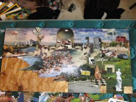 4x2 ft Landscape Collage in progress 2 by PancreasSupervisor