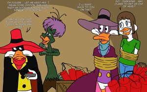 Darkwing Duck: Captured Vines by mattwilson83