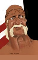 Hulk Hogan by DeGiz