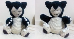 Snorlax Complete! by gardensofmay