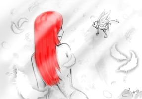 Erza and Fairy by Spirity-N