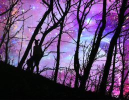 Galactic Forest Adventures by ruby-misted-eyes