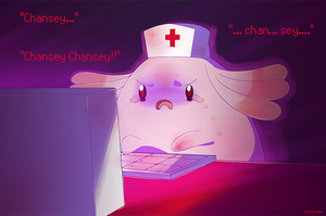 ''It's me, Chansey!''