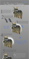 Fur Smudging / Highlighting Tutorial by tahbikat