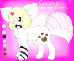 Cocoa's Valentine's Day Event Form~ by CocoaAkeelahKitten