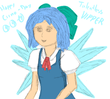 Happy Belated Cirno Day by Rogutaan