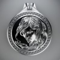 Female pendant by MikeeRice