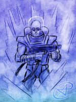 Mister Freeze by photon-nmo