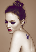 Leighton Meester Colorization. by C-Jady