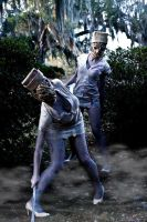 Silent hill nurses by Ami-Yumi-Productions