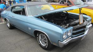 70 Chevelle SS 396 by zypherion